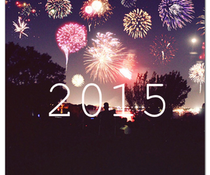 countdown, fireworks, and happy new year image
