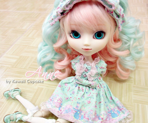 angelic pretty, eyes, and pink image
