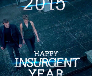 new year, insurgent, and 2015 image