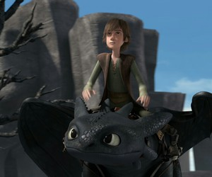 toothless, hiccup, and howto train your dragon image