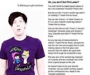 amazingphil, youtube, and phil lester image