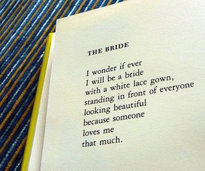 bride, love, and book image