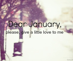 january, love, and winter image