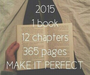 2015, book, and new year image