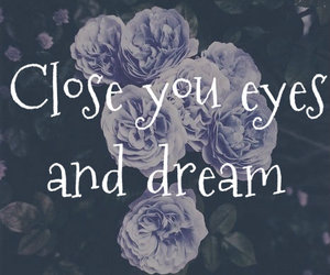 beautiful, close, and Close your eyes image