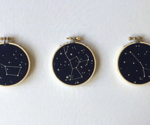 stars, grunge, and space image