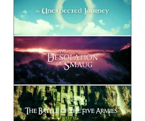 the hobbit trilogy image