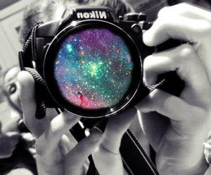 galaxy, camera, and photography image