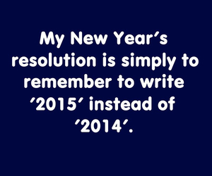 funny, new years resolution, and OMG image