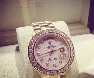 rolex, watch, and luxury image