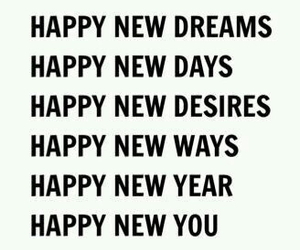dreams, new year, and desires image