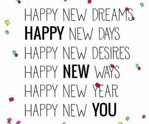 dreams, life, and new year image