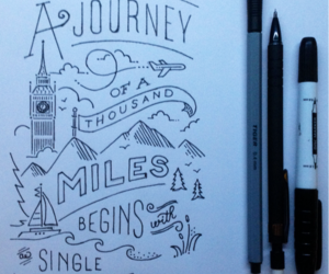 journey, quote, and step image