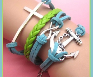 bracelet, charms, and friendship image
