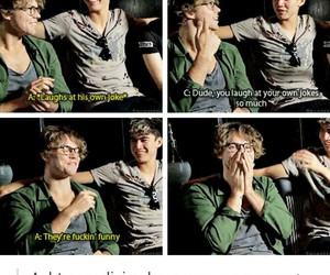 5sos, ashton irwin, and funny image