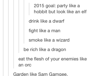 LOTR, the hobbit, and tumblr image
