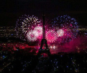 eiffel tower, happy new year, and new year image