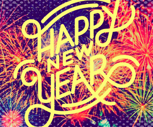 happy new year, january, and new years image