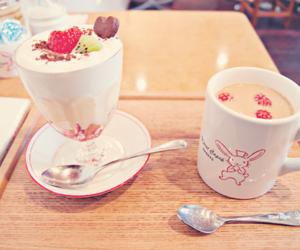 food, kawaii, and drink image