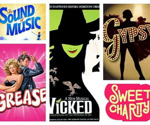 broadway, grease, and gypsy image