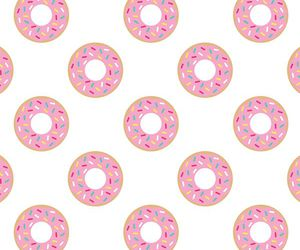 background, donnuts, and donuts image