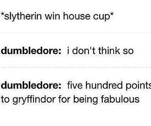 slytherin, tumblr, and dumbledore image