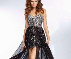 fashion, style, and homecoming dress image