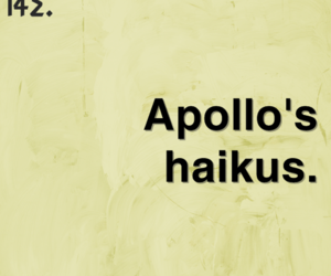 apollo, funny, and haiku image