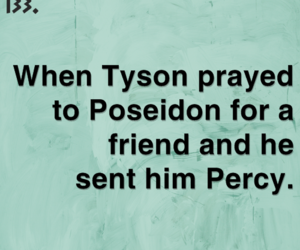 friend, percy, and tyson image