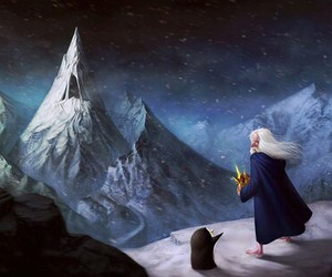 adventure time, gunter, and ice king image