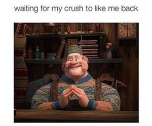 crush, funny, and frozen image