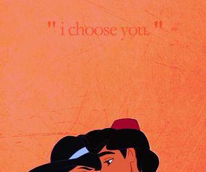 love, disney, and aladdin image