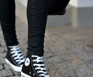 chic, shoe, and trend image
