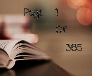 1, 365, and book image