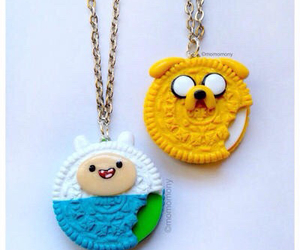 adventure time, JAKe, and oreo image