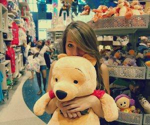 bear, girl, and cris almeida image