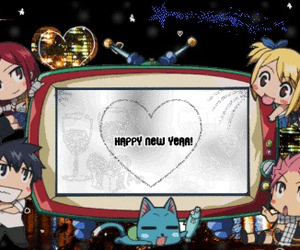 fairy tail and happy new years! image