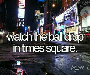 bucket list, before i die, and new years image