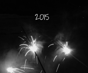 celebrate, fireworks, and new year image