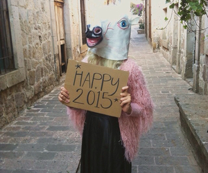unicorn, 2015, and new year image