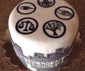 cake, divergent, and dauntless image
