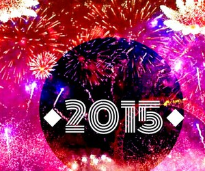 new year, 2015, and bye 2014 image