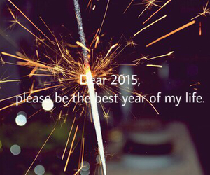 2015, firework, and newyear image