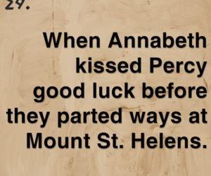 helen, kiss, and percy image