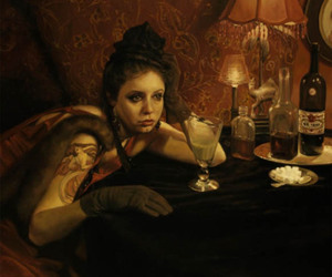 absinthe, art, and drinking image