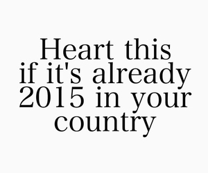 2015, new year, and heart image