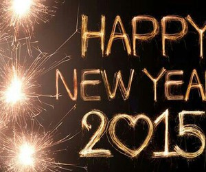 happy new year, worldwide, and 2015 image