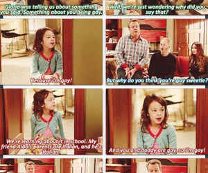 funny and modern family image