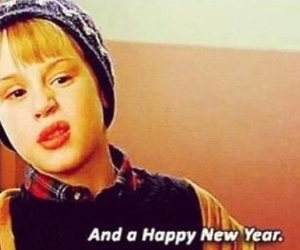 new year, home alone, and 2015 image