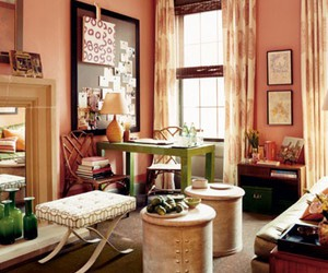 decor, pink, and home image